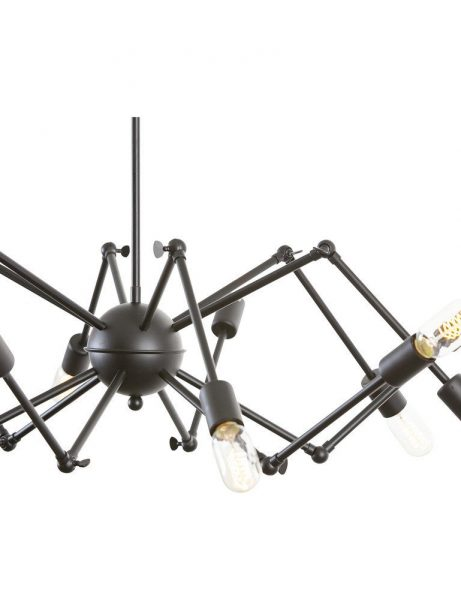 level flexible black wire chandelier 3 461x614
