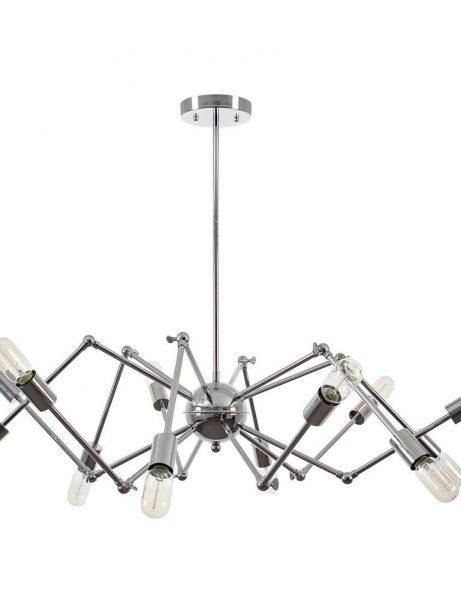 level flexible wire silver chandelier 2 461x614