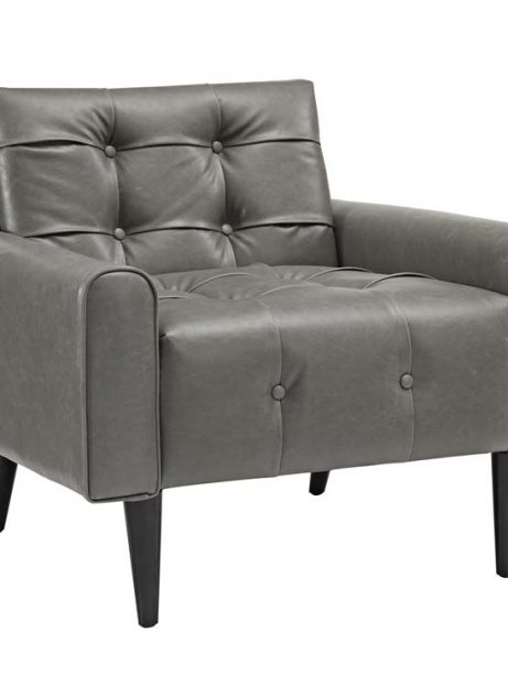midnight leather armchair gray 1 461x614