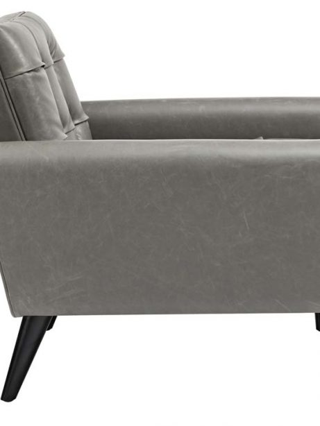 midnight leather armchair gray 2 461x614