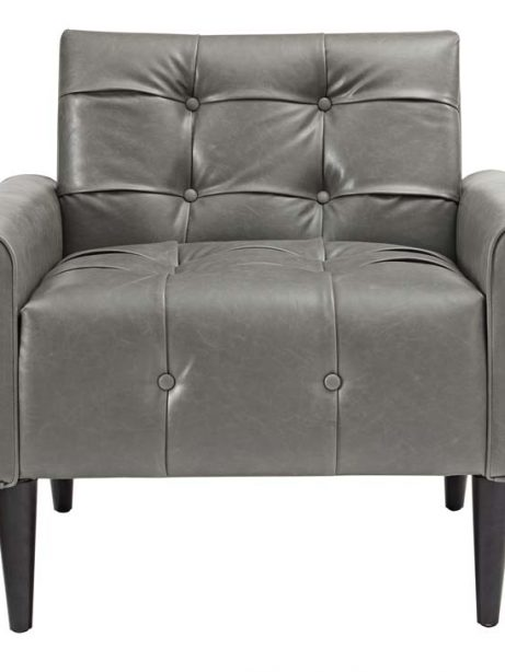 midnight leather armchair gray 4 461x614