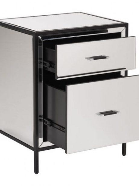 minimal mirror end table 4 461x614