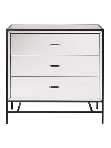 minimal mirror side cabinet