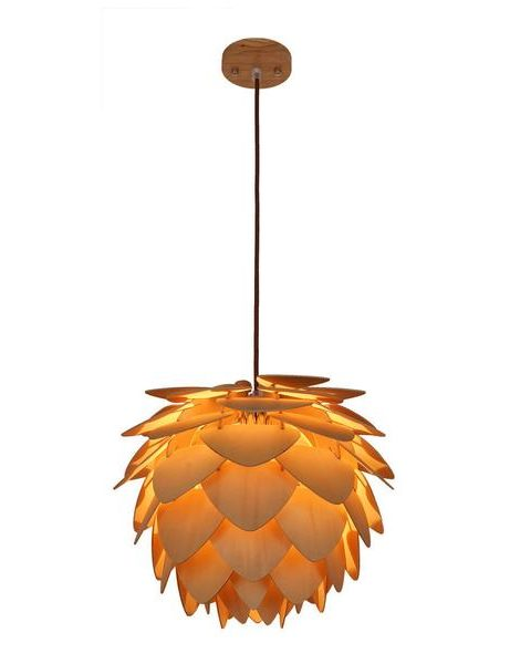 natural wood petals medium pendant light 1 461x600