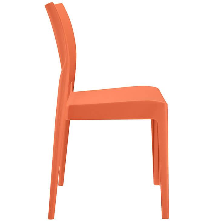 orange mod outdoor chair