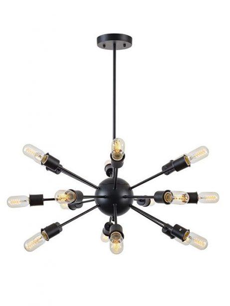 sputnik black metal chandelier 461x614