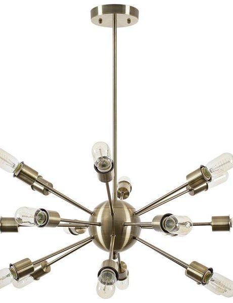 sputnik brass gold chandelier 1 461x600