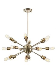 sputnik brass gold chandelier 237x315