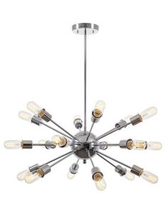 sputnik silver chrome chandelier 237x315
