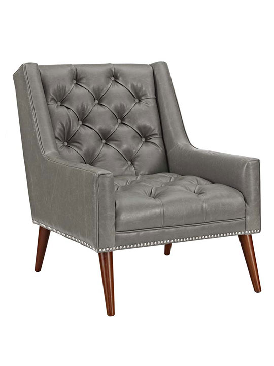 tilly armchair gray
