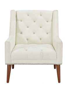 tilly velvet armchair cream 237x315