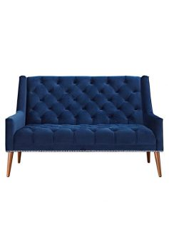 tilly velvet loveseat blue 237x315