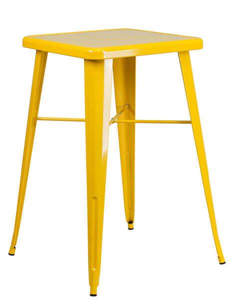 tonic metal bar table 23 yellow 1