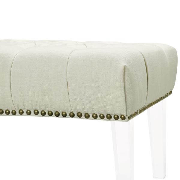 tufted upholstered bench