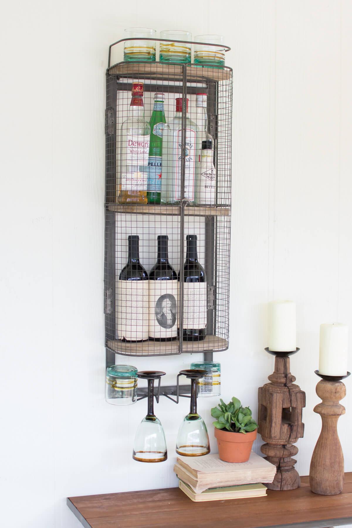 wall bar cabinet 1
