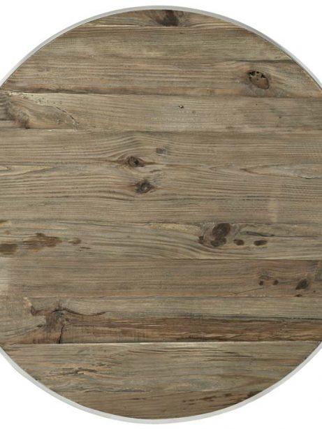 wood chrome circular coffee table 2 461x614