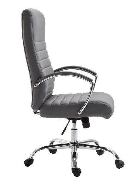 globe office chair gray 2 461x600