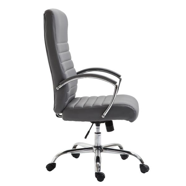 globe office chair gray 2