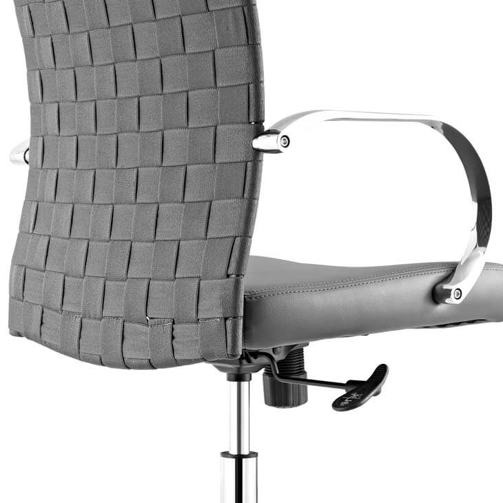 gray woven office chair 2