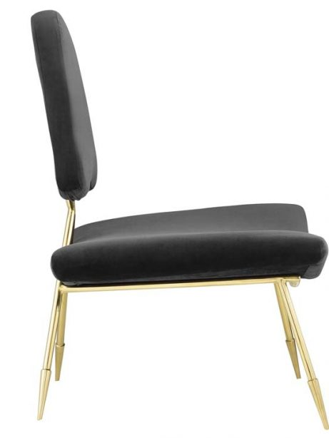 stratus gold velvet accent chair black 2 461x614
