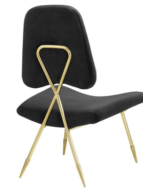 stratus gold velvet accent chair black 3 461x614