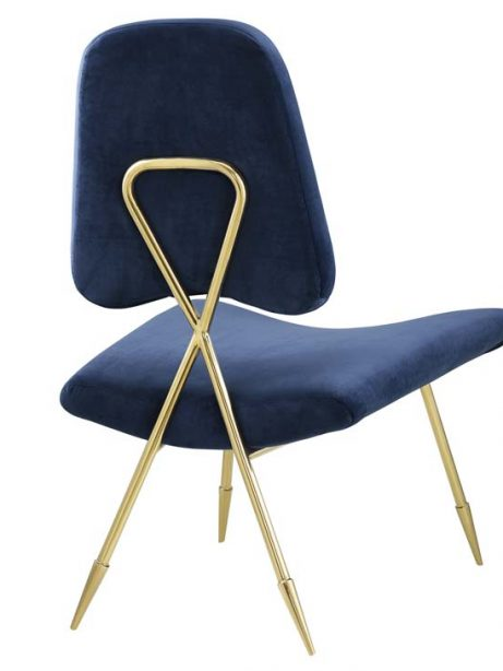 stratus gold velvet accent chair blue 3 461x614