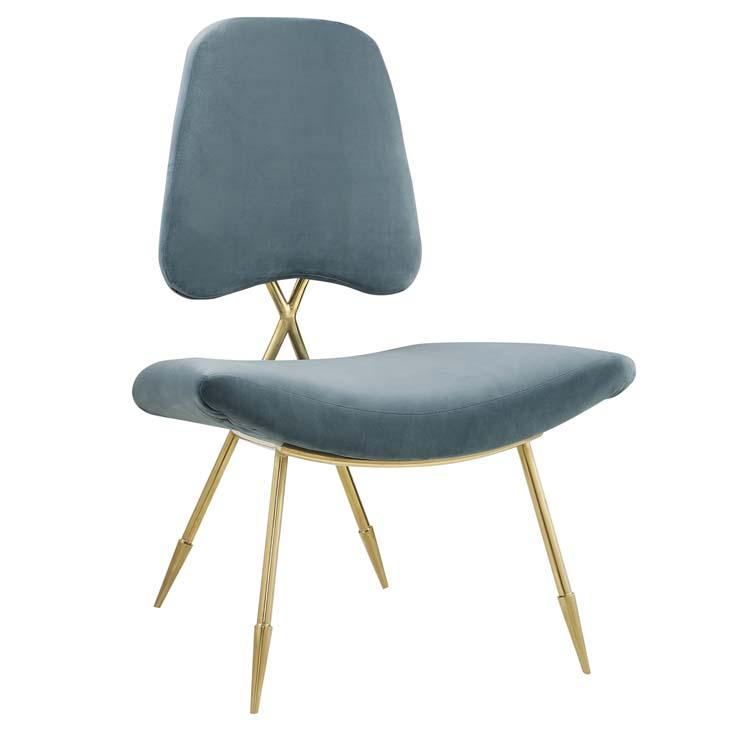 stratus gold velvet accent chair mint blue 1