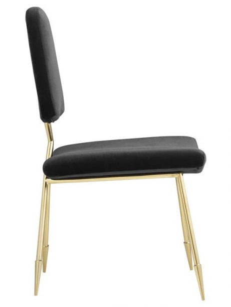 stratus gold velvet chair black 2 461x614