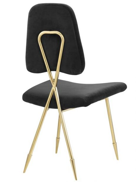 stratus gold velvet chair black 3 461x614