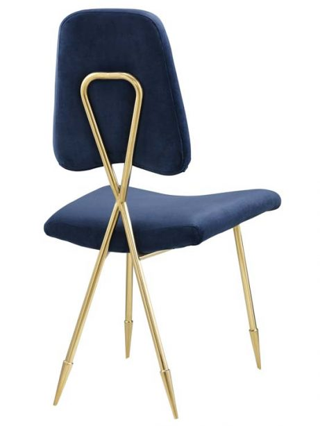 stratus gold velvet chair blue 3 461x614