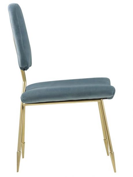 stratus gold velvet chair mint blue 2 461x614
