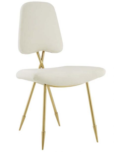 stratus gold velvet chair white 1 461x614