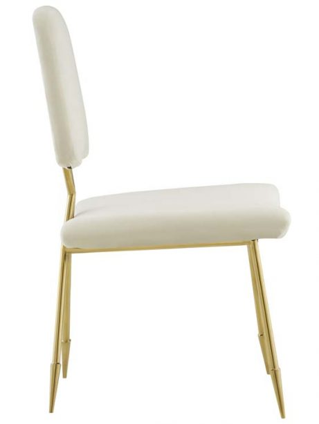 stratus gold velvet chair white 2 461x614