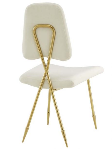 stratus gold velvet chair white 3 461x614