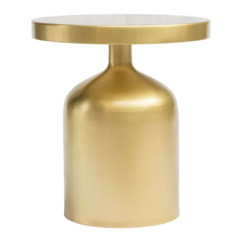 Bank Brass Side Table