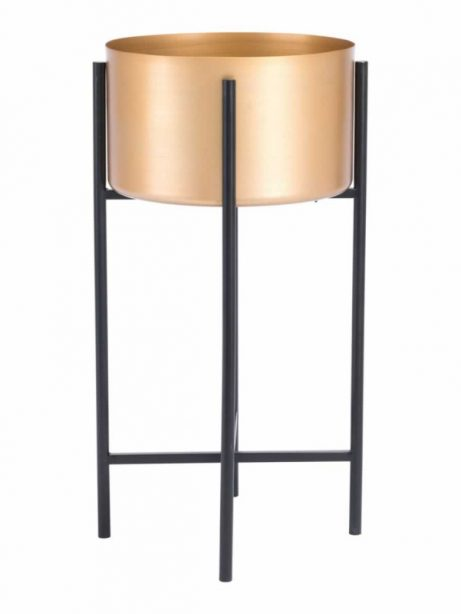 Gold Black Planter Stand 2 461x614