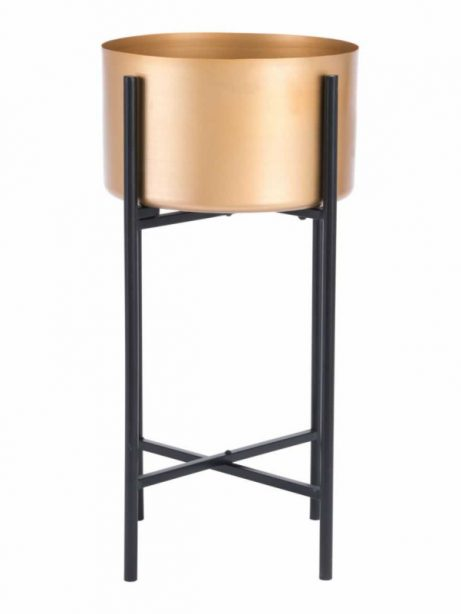 Gold Black Planter Stand 3 461x614