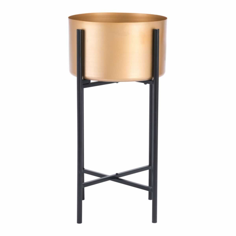 Gold Black Planter Stand 3