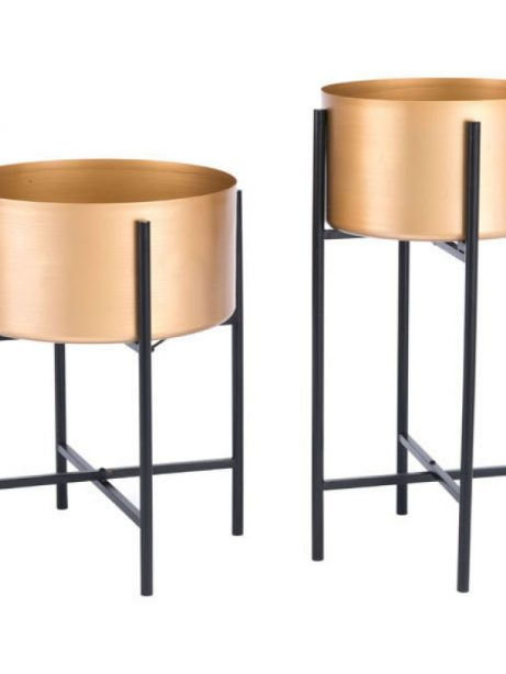Gold Black Planter Stand 4 461x614