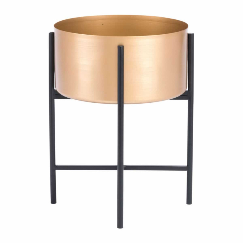 Gold Black Planter Stand medium size 2