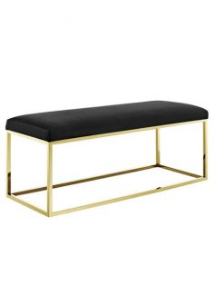 Gold Metallic Bench 237x315