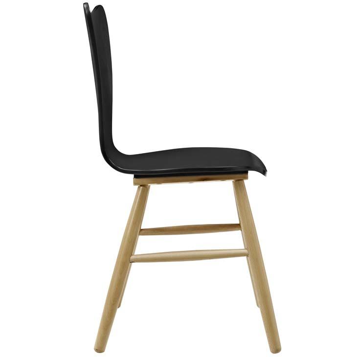 Attrayant Poppy Chair Black 1