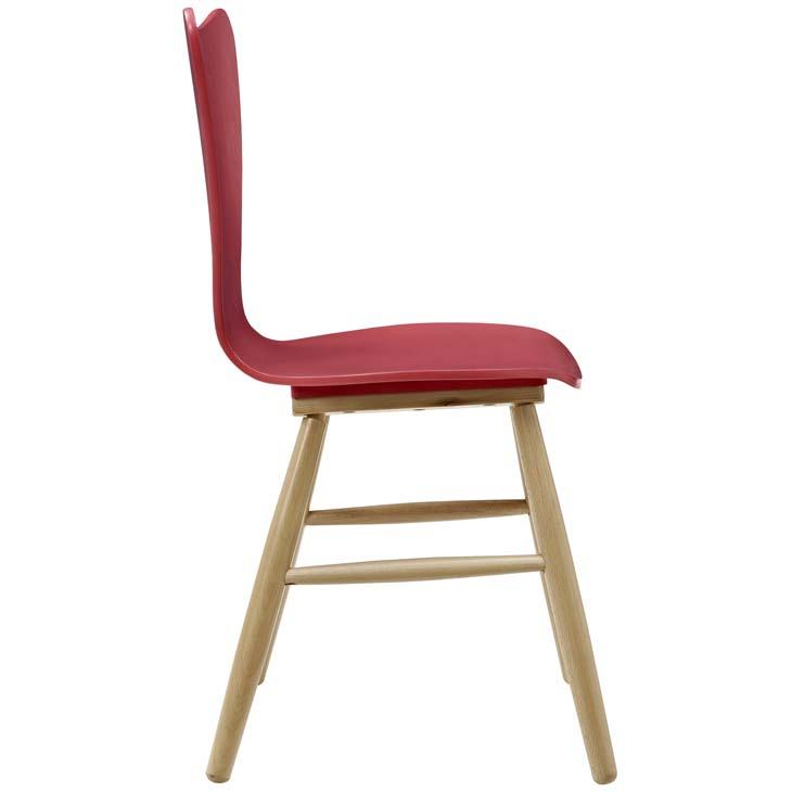 Poppy Chair red 1
