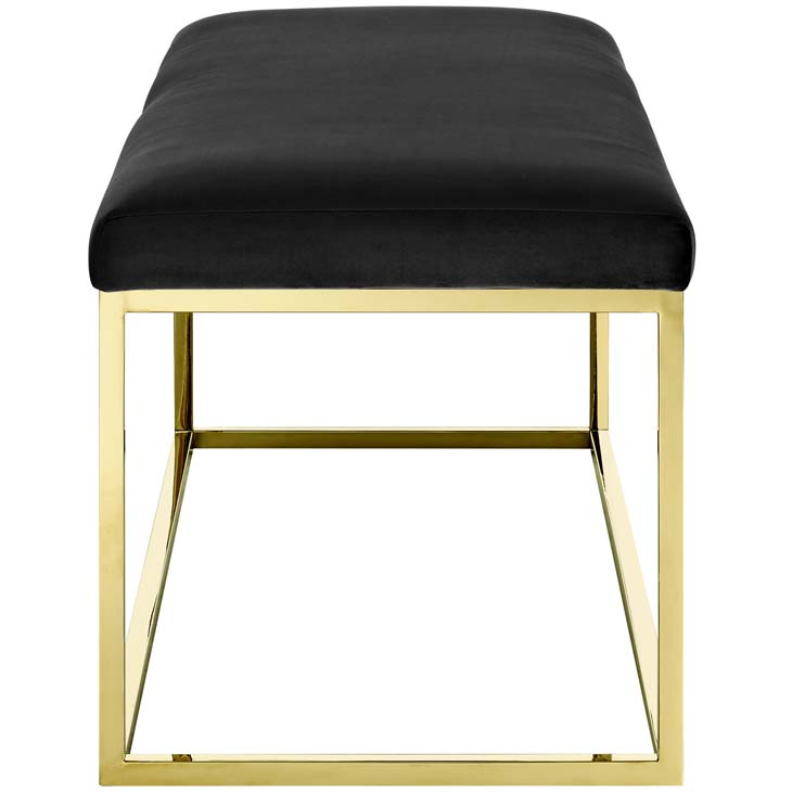 metallic gold bench gold black 2