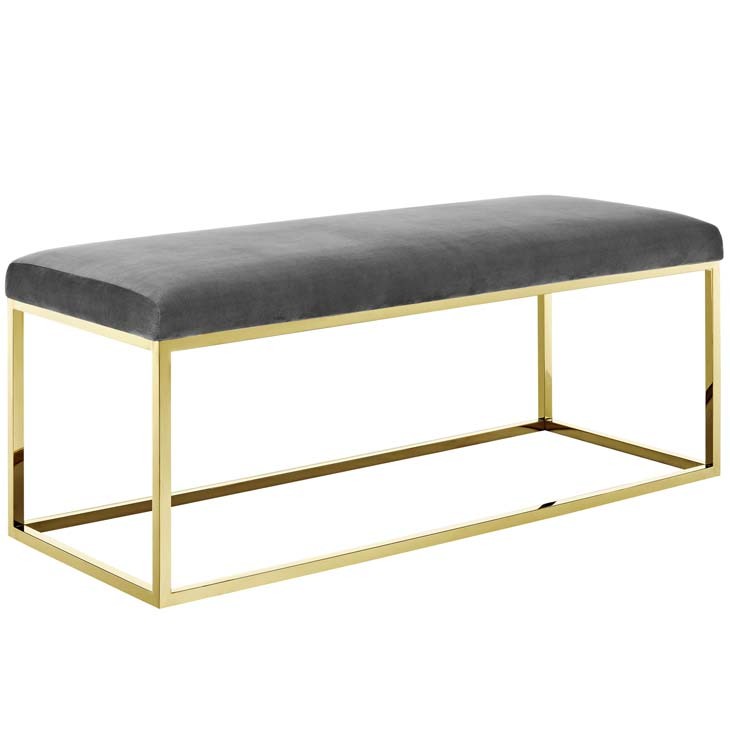 metallic gold bench gold gray 1