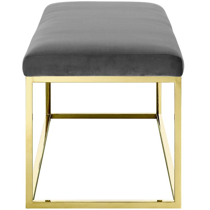 metallic gold bench gold gray 2