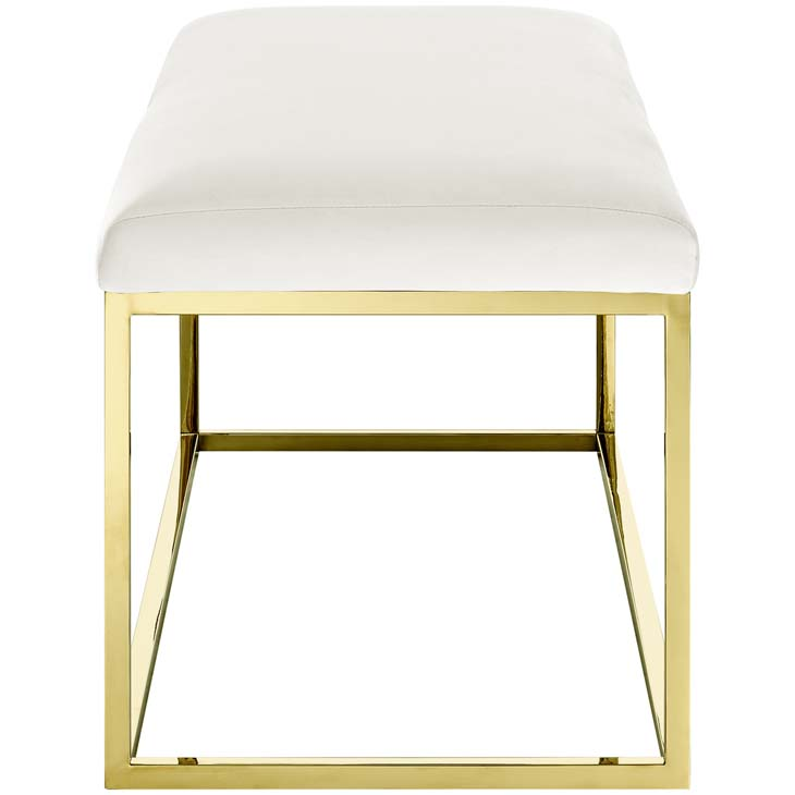 metallic gold bench gold ivory 2