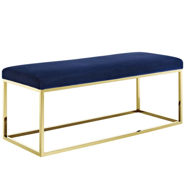 metallic gold bench gold navy 1