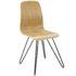 wood pin chair natural wood