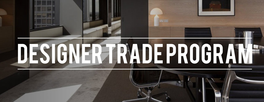Designer Trade Program Header Image